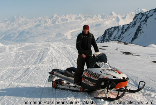 Chad Jones Arctic Cat M1000 @ Thompson Pass, Chugach Mountain Range, Valdez, Alaska