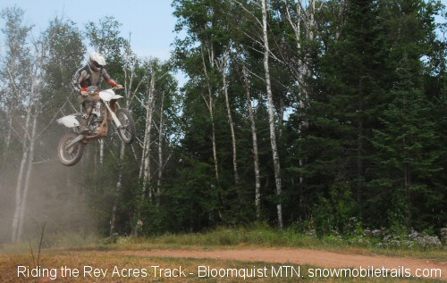 Chad Jones YZ450F Rev Acres Track Bloomquist Mountain - Grand Marais, Minnesota