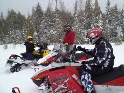Snowmobile Trails Minnesota North Shore