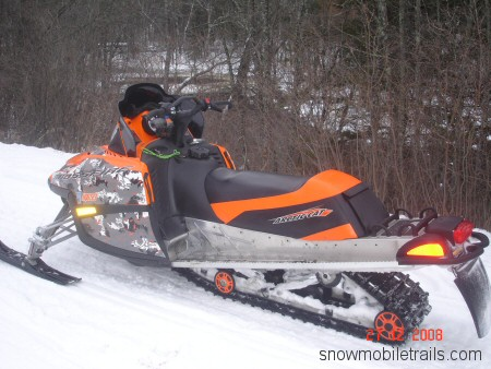 Changing Tracks Arctic Cat Crossfire 1000 Snowmobiling